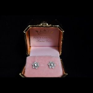Limited Edition Juicy Couture Snowflake Studs